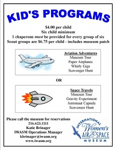 Kids Programs Flyer